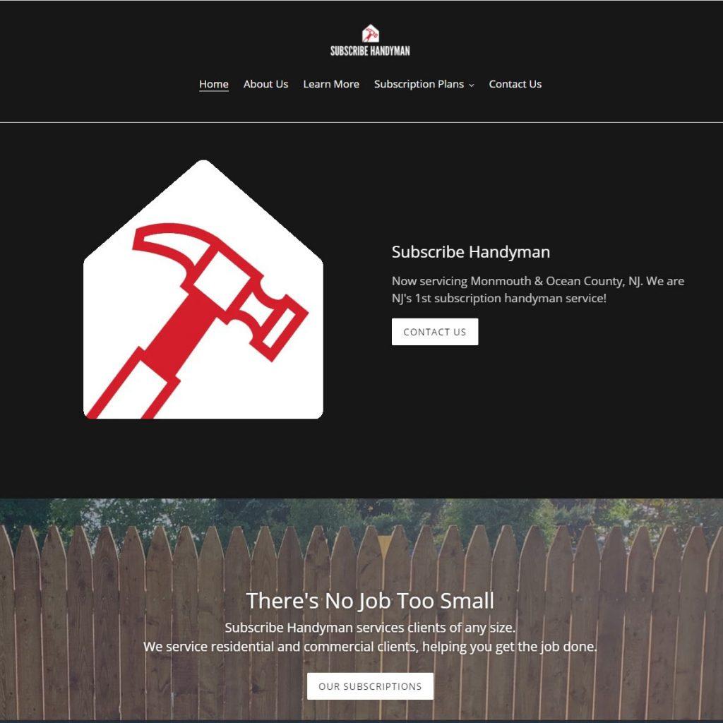 subscribe-handyman-website